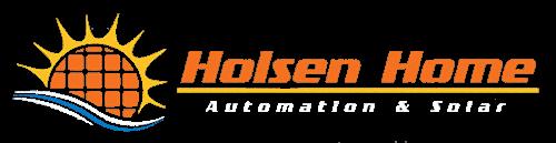 Holsen Home logo white